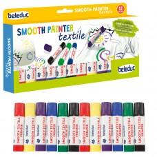 Набор из 12 красок по текстилю