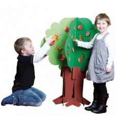 """Картонное дерево """"Время года"""""""