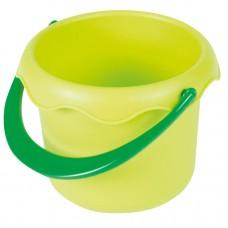 Зелёное ведёрка для песочницы