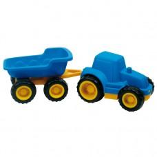 Трактор и прицеп