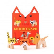 """Деревянный набор-оригами """"Животные"""""""