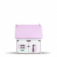 """Кукольный домик """"Лолли"""" (бело-розовый)"""