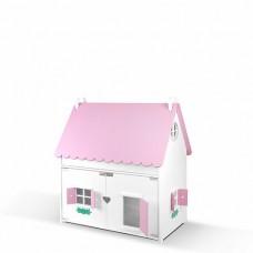 """Кукольный домик """"Барби Хаус"""" (бело-розовый)"""