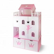 """Кукольный домик """"Балерина"""" (бело-розовый)"""