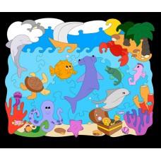 """Мозаика-раскраска """"Океан"""""""